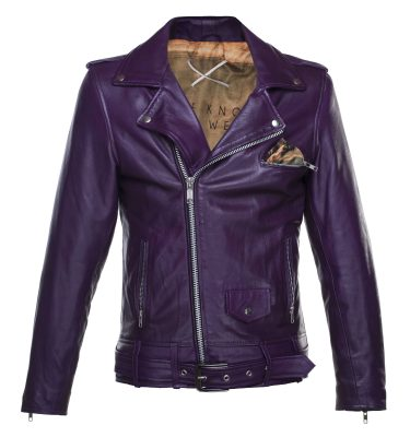 Judgement Leather Jacket Front